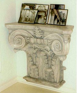 Decorative Acanthus Leaf Plater Shelf