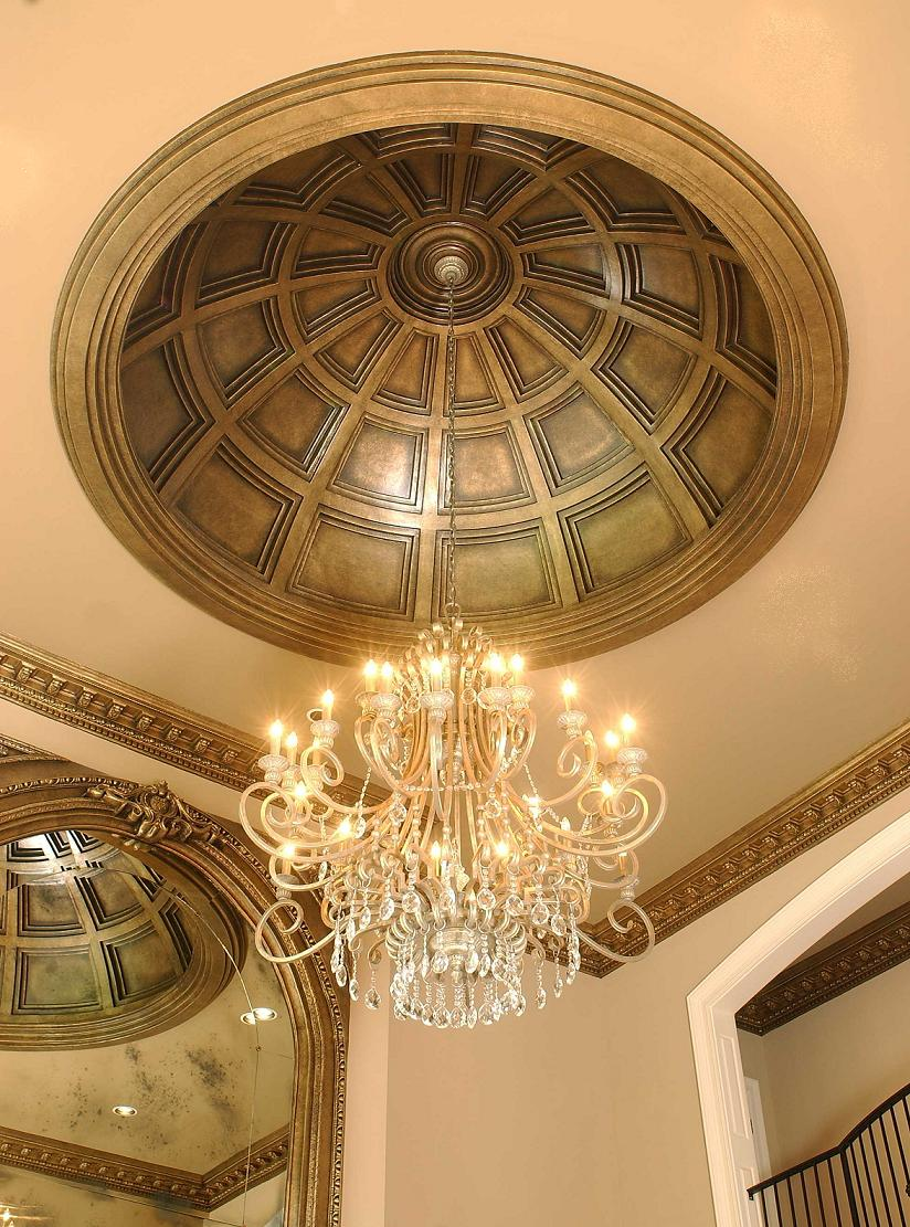 Coffered Ceiling Dome