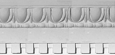 Classic Egg and Dart with Dentil Molding