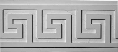 Greek Key Plaster Molding