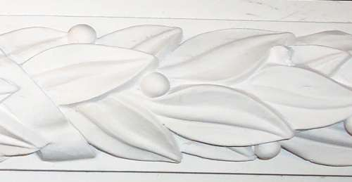 Egg and dart Plaster crown molding
