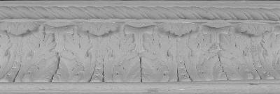 Decorative Acanthus Leaf Plaster Molding