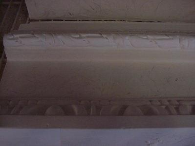 Egg and dart Plaster crown molding