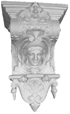 Corbel Bracket with face of a Lady